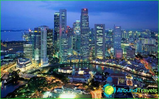 Сезон в Сингапур