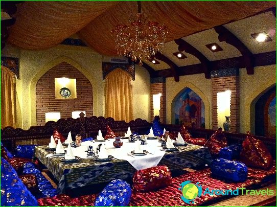 Parhaat ravintolat Samarkandissa