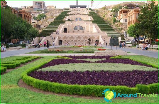 Tekemistä Jerevanissa