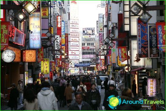 Неща за правене в Токио