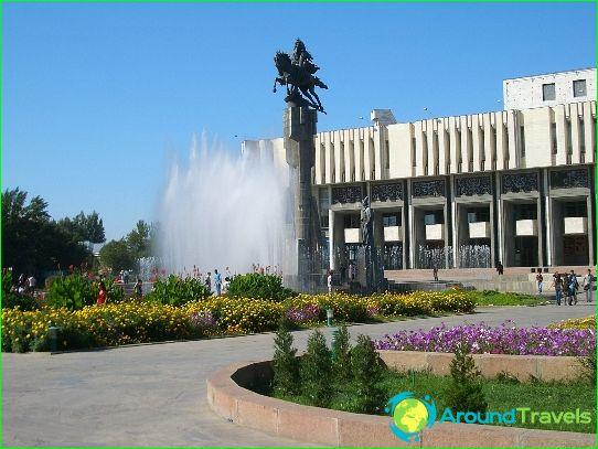 Tekemistä Bishkekissä