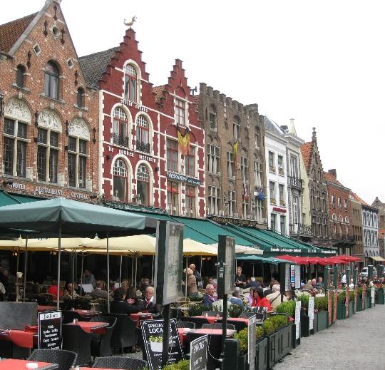 Parhaat ravintolat Bruggessa