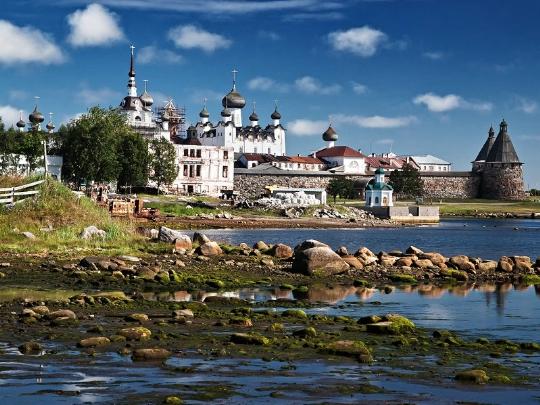 Rust met kinderen in Karelië