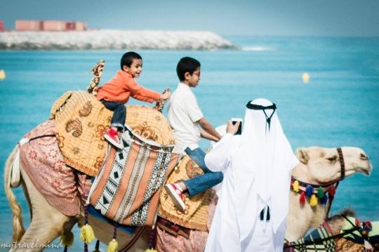 Lomat Arabiemiirikunnissa lasten kanssa