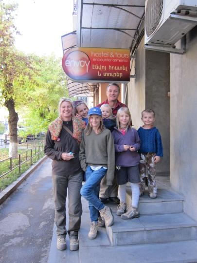 Vakantie in Armenië met kinderen