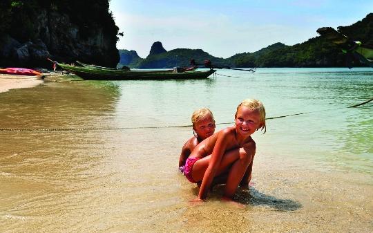 Lomat Thaimaassa lasten kanssa