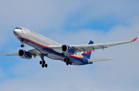 Kuinka paljon lentää Novosibirskista Moskovaan?