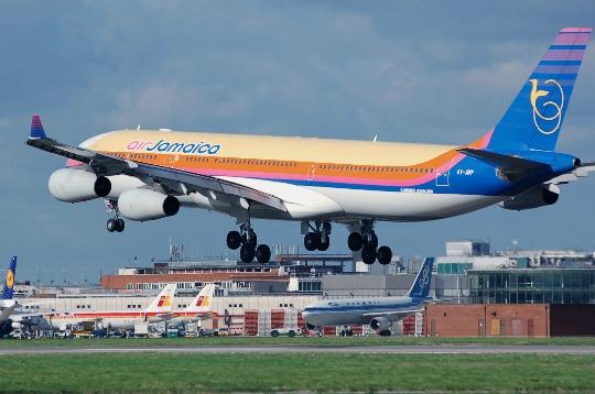 Колко да лети от Ямайка до Москва?