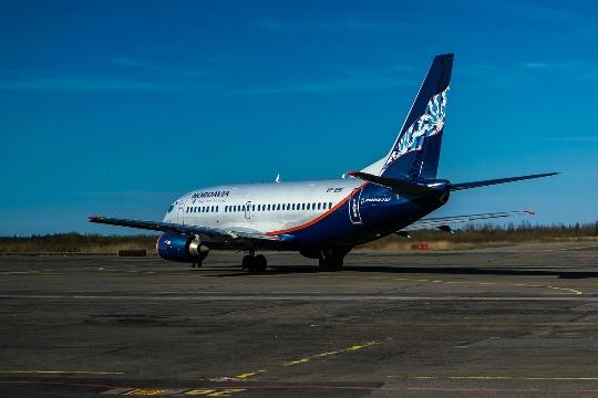 Hoeveel om te vliegen van Arkhangelsk naar Moskou?