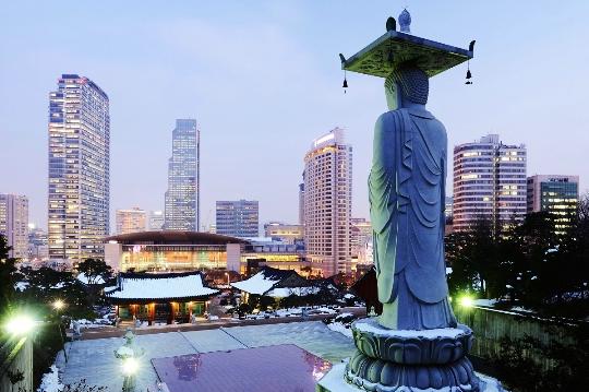 Kenmerken van Zuid-Korea