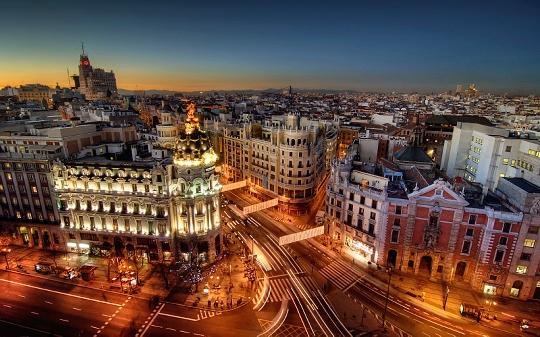 رحلة الى اسبانيا