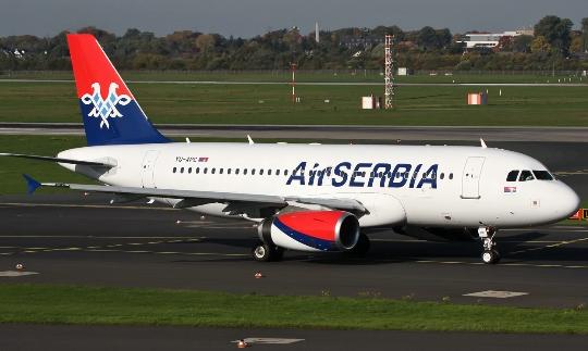 Kuinka paljon lentää Belgradista Moskovaan?