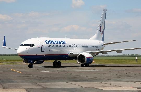 Kuinka paljon lentää Orenburgista Moskovaan?