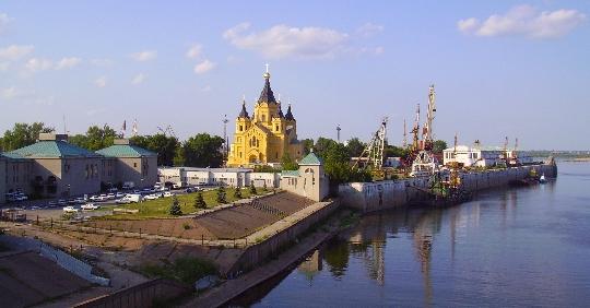 Nizhny Novgorod in 1 dag