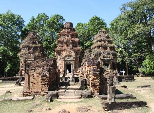 Vakantie in Cambodja in mei