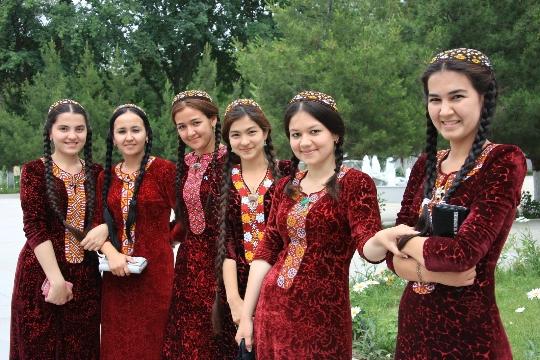 De tradities van Turkmenistan