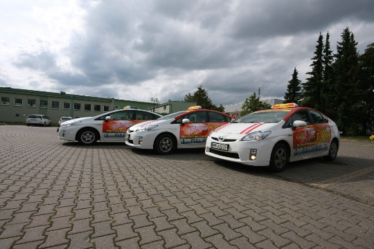 Taxi in Polen