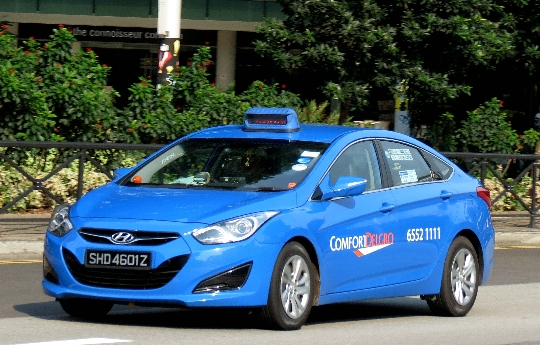 Taxi in Singapore