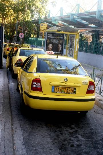 Taxi in Griekenland