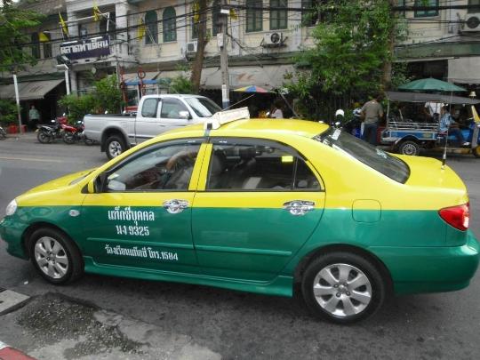 تاكسي في تايلاند