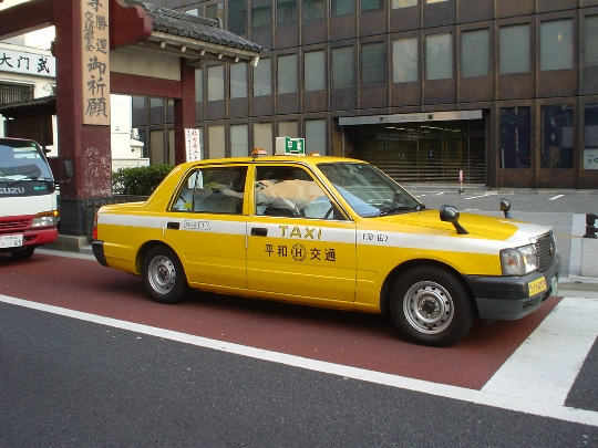 Taksi Japanissa