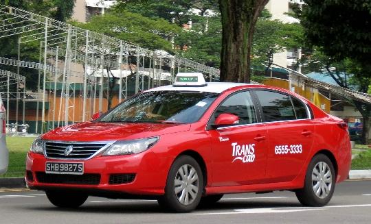 Такси в Сингапур