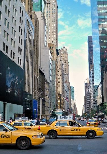 Taxi in de Verenigde Staten