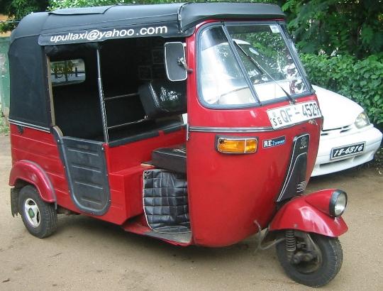 تاكسي في سريلانكا