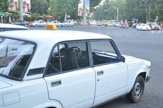 Taxi in Armenië