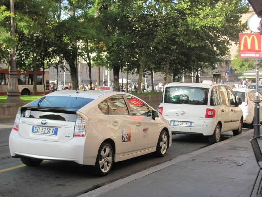 Taxi in Italië