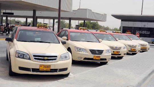 Taksi Arabiemiirikunnissa