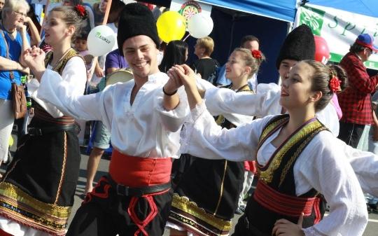 Tradities van Servië