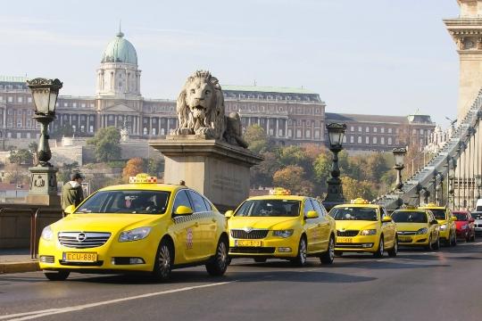 Taxi's in Hongarije