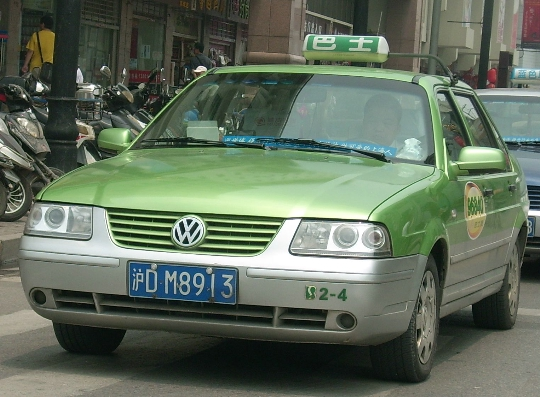 Taxi in China