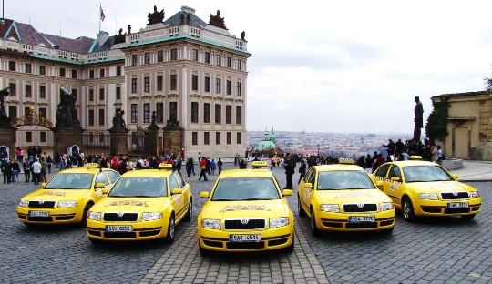 Taxi in Tsjechië