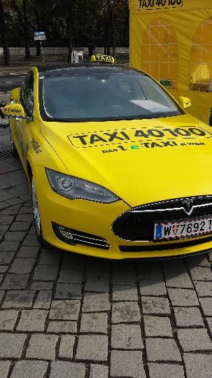 Taxi in Oostenrijk