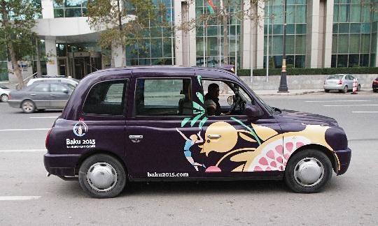 Taksi Azerbaidžanissa