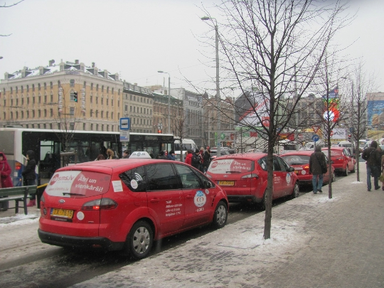 Taxi in Letland