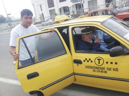 Taxi in Oezbekistan