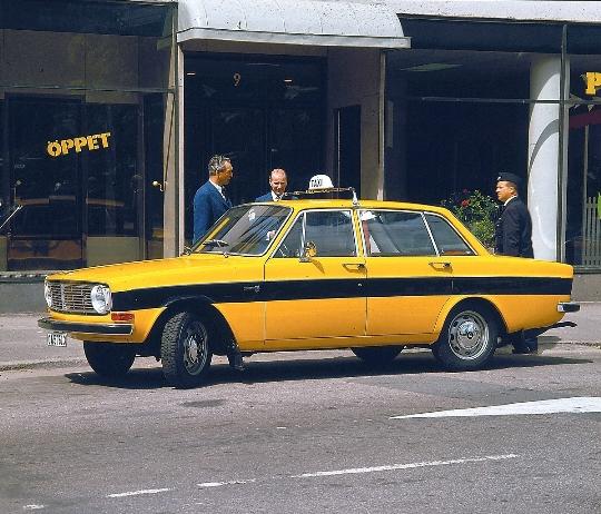 Taxi's in Zweden
