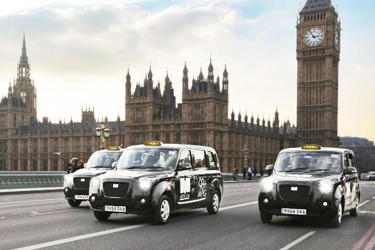 Taxi in het VK