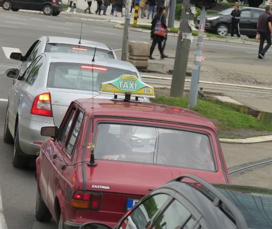Таксита в Сърбия
