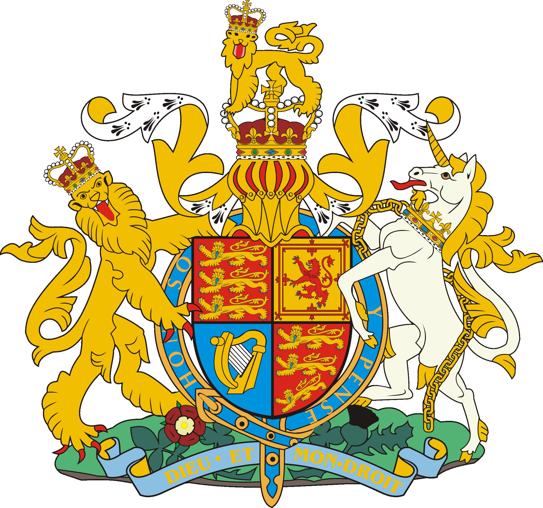 Wapenschild van Groot-Brittannië