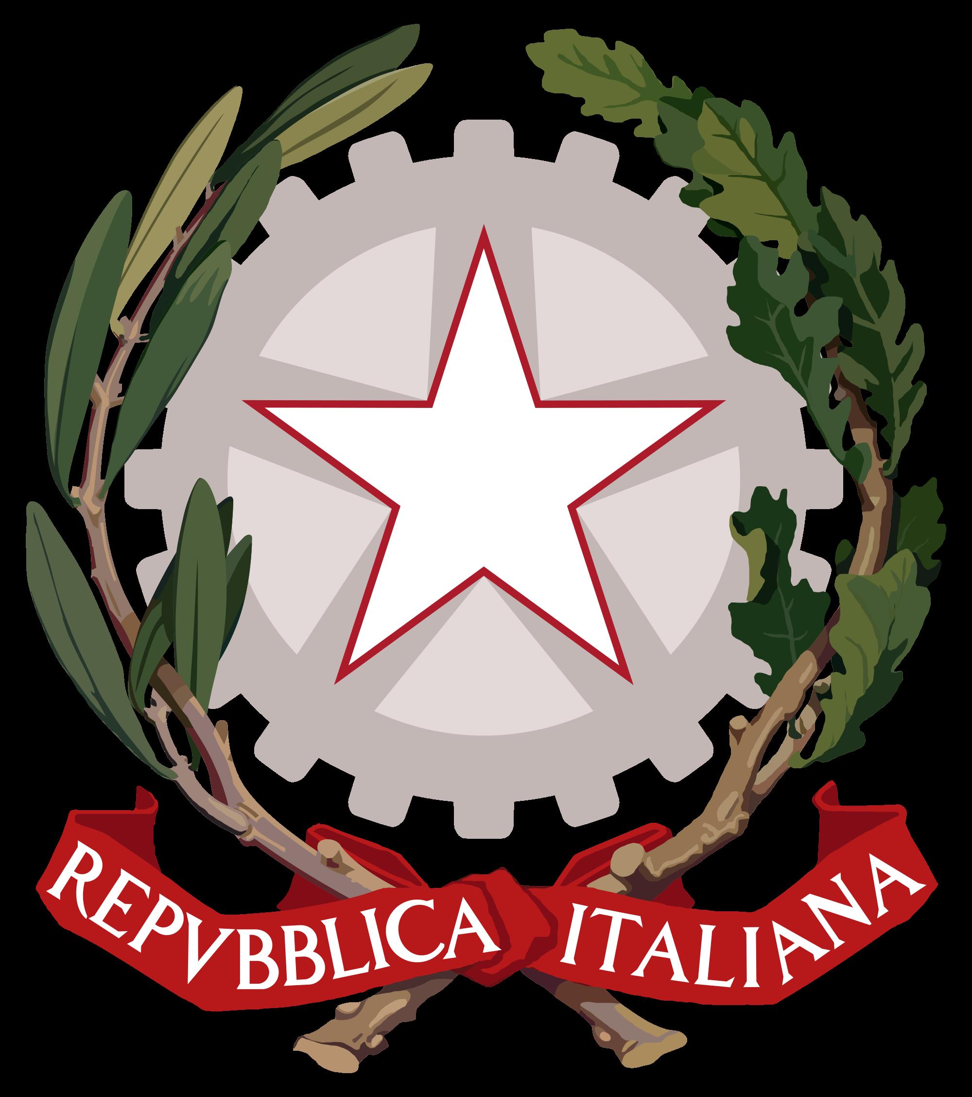 Герб на Италия