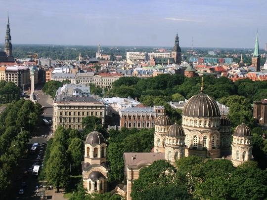 Reis naar Letland