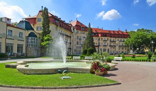 Vakantie in Slowakije in mei