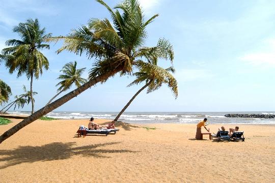 Sri Lankan rannikko