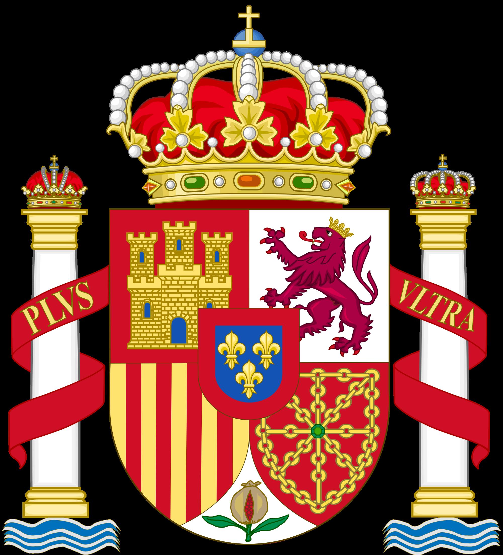 Герб на Испания