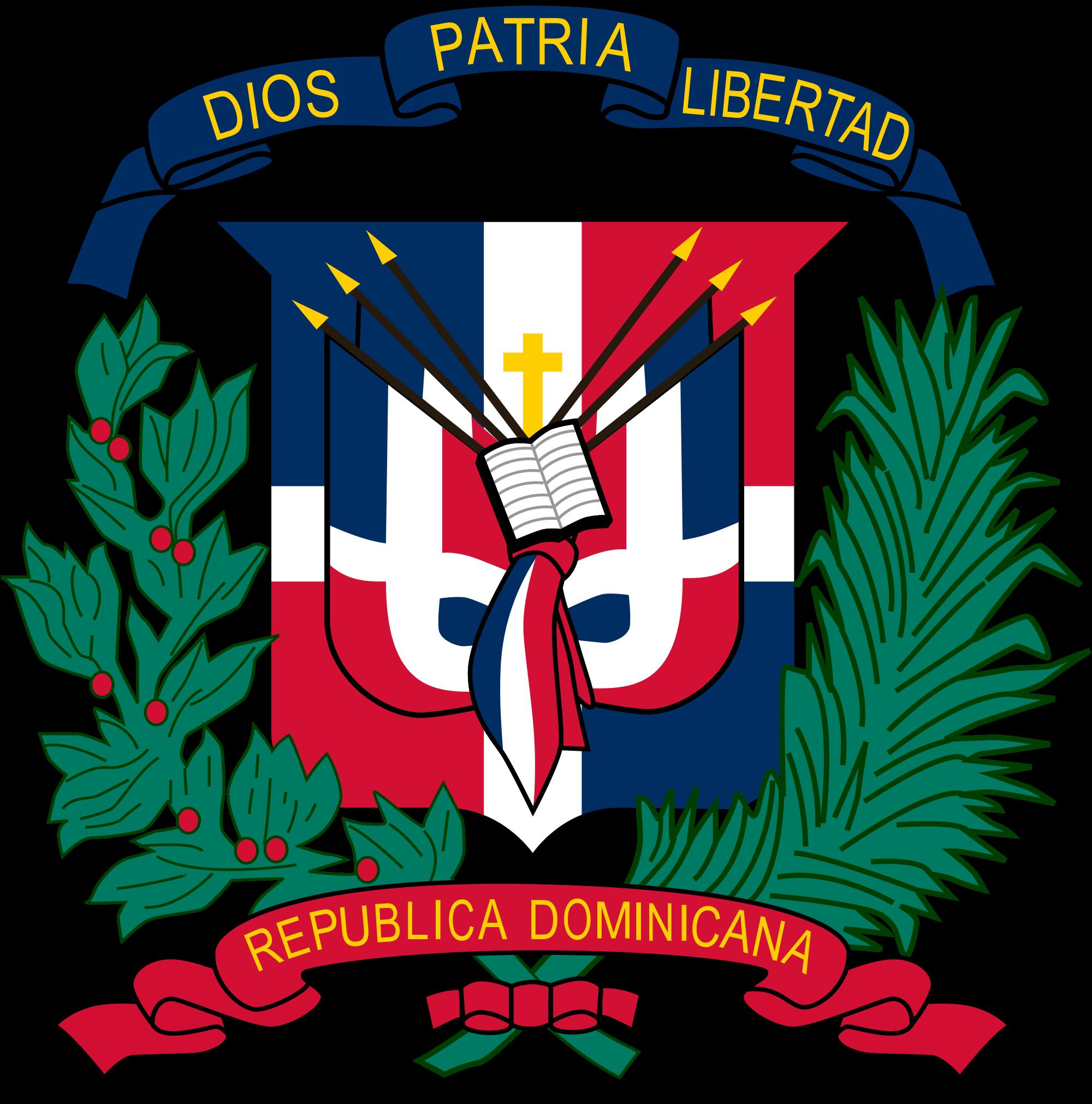 Dominikaanisen tasavallan vaakuna