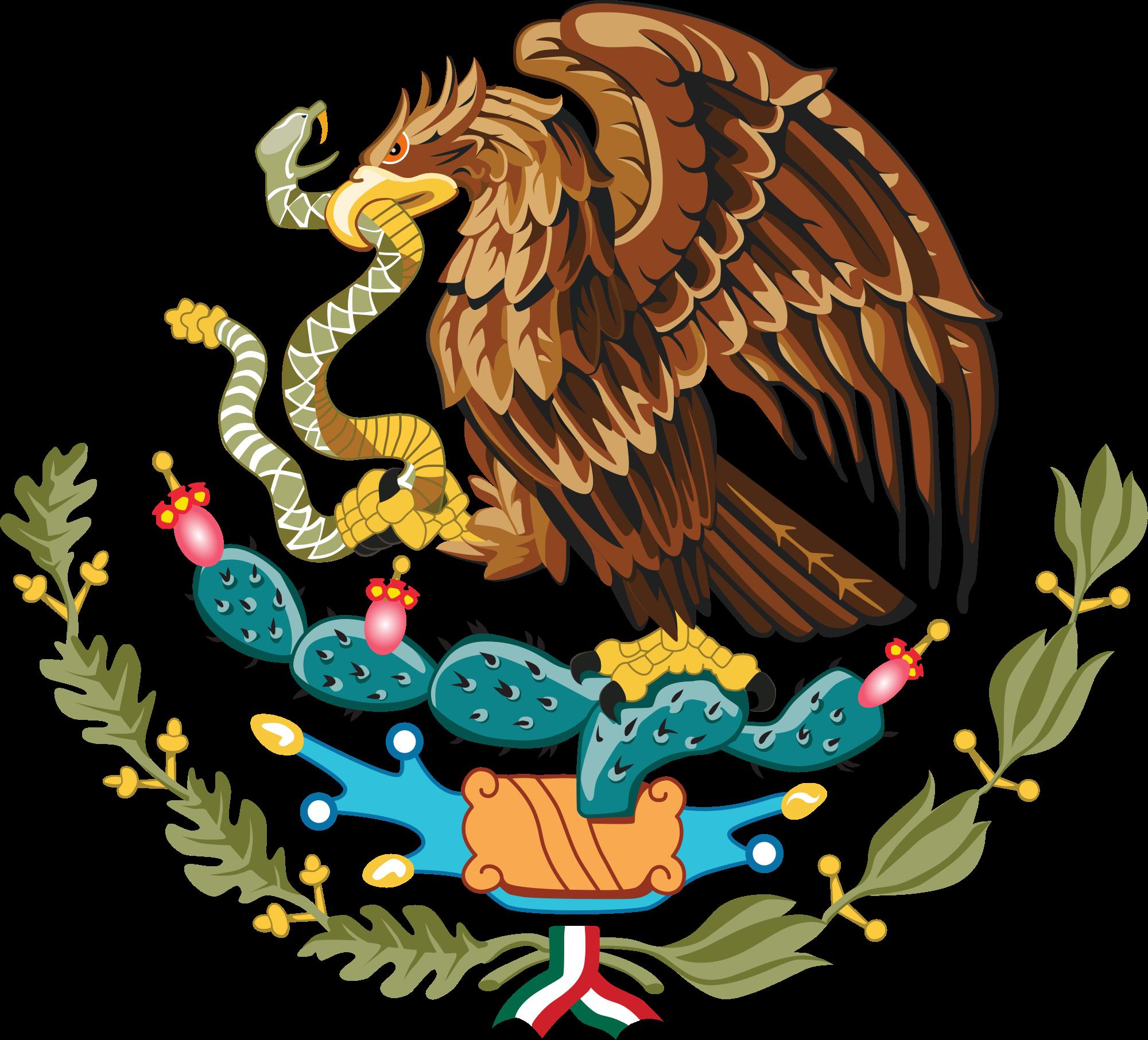 Meksikon vaakuna